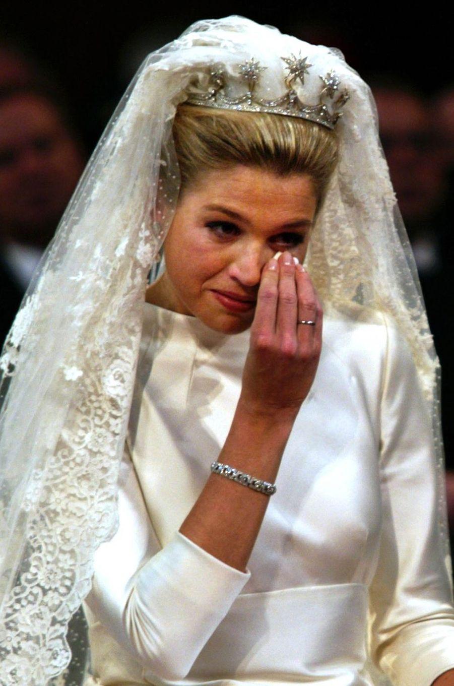 Maxima Zorreguieta à Amsterdam, le 2 février 2002