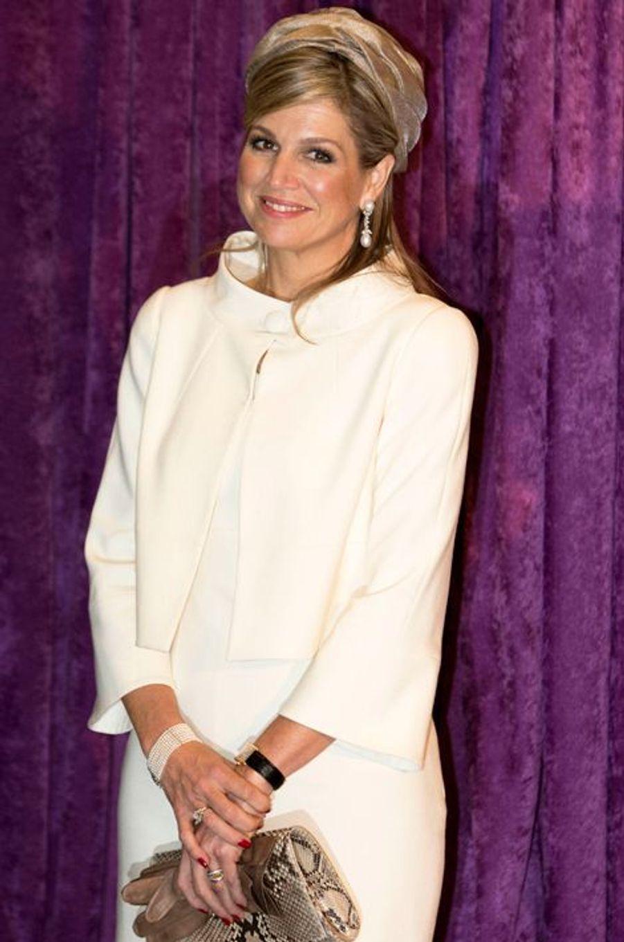 La reine Maxima des Pays-Bas à Chicago, le 3 juin 2015