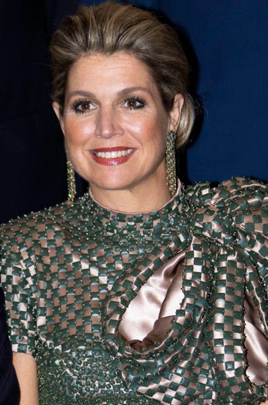 La reine Maxima des Pays-Bas à Chicago, le 2 juin 2015