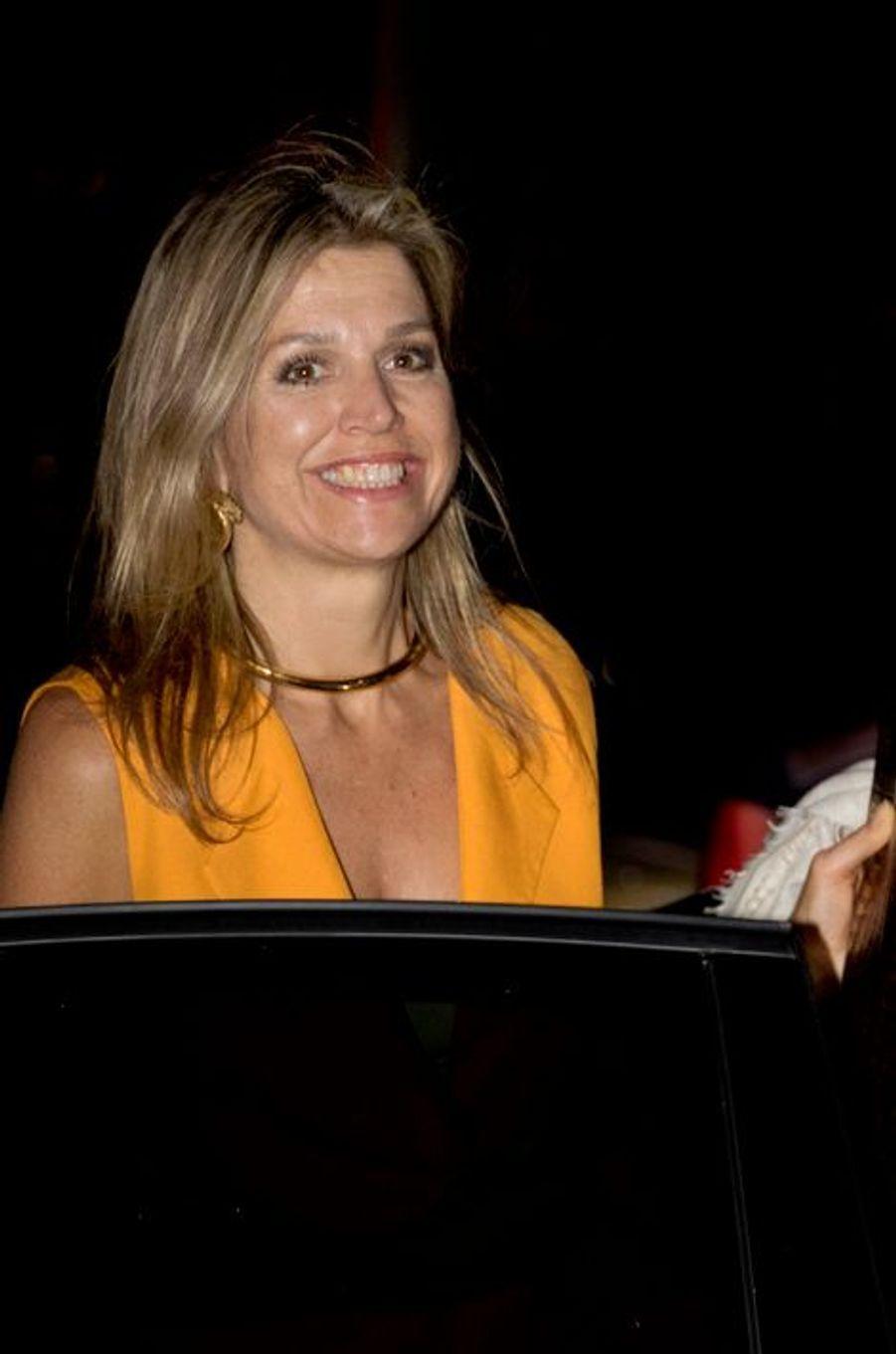 La reine Maxima des Pays-Bas à La Haye, le 5 juillet 2015