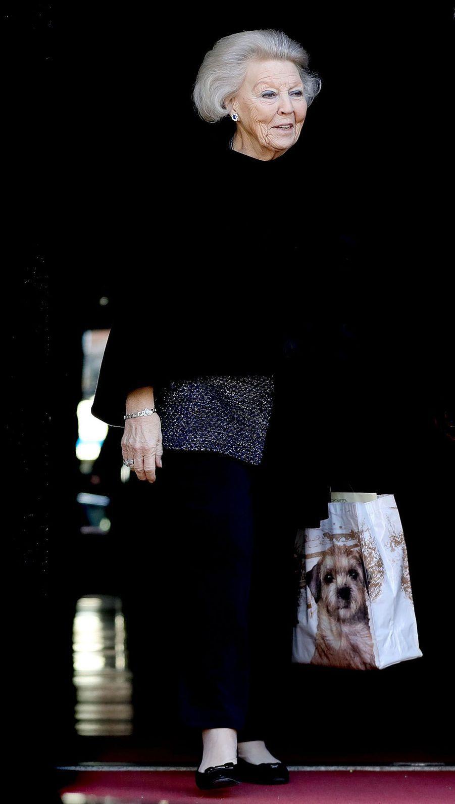 La princesse Beatrix des Pays-Bas à Amsterdam, le 4 février 2018