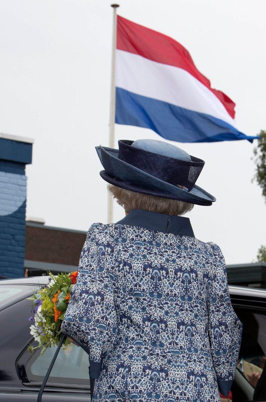 L'ex-reine Beatrix des Pays-Bas le 14 juin 2018 à Biddinghuizen