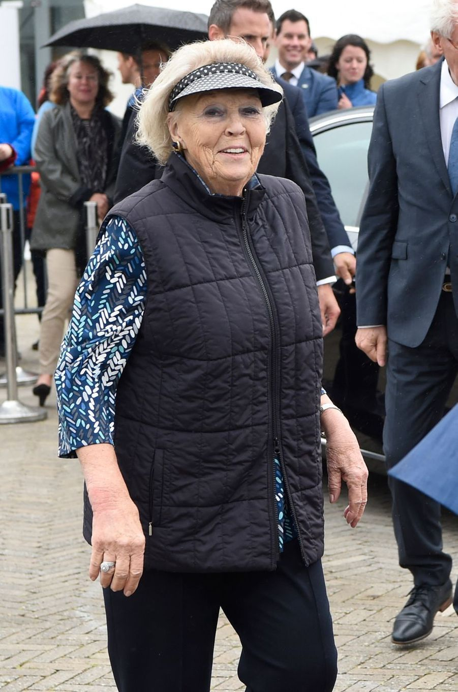 L'ex-reine Beatrix des Pays-Bas à Lelystad, le 14 juin 2018