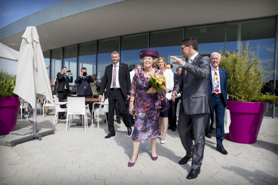 La princesse Beatrix des Pays-Bas à Bratislava, le 30 juin 2016