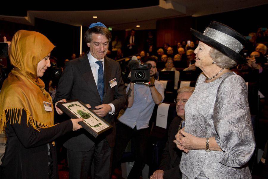 La princesse Beatrix des Pays-Bas à Utrecht, le 22 janvier 2018