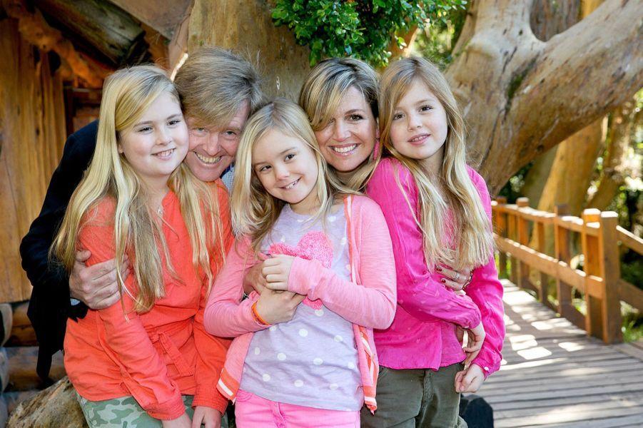 La princesse Catharina-Amalia en famille en Argentine en décembre 2014