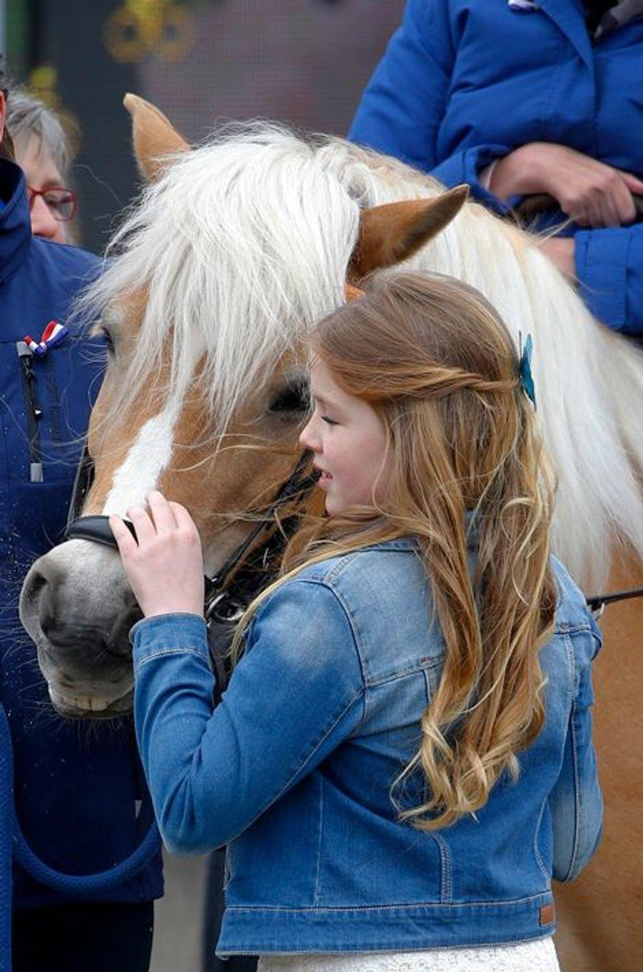 La princesse Alexia des Pays-Bas à Zwolle, le 27 avril 2016