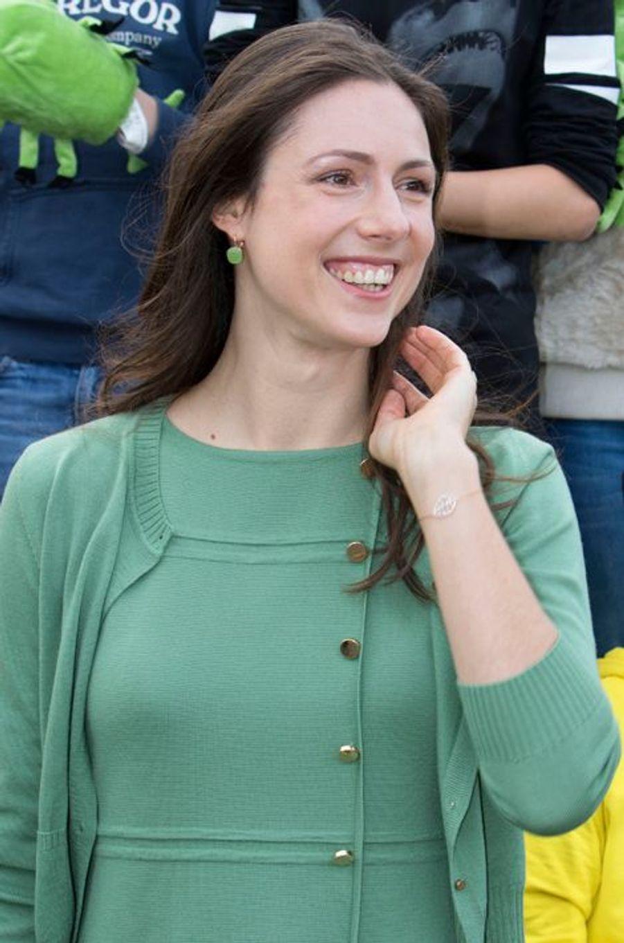 La princesse Viktoria de Bourbon de Parme à Krimpen aan den Ijssel, le 9 novembre 2015