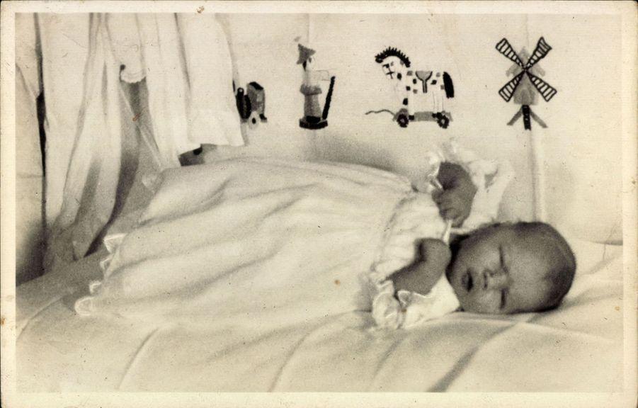 La princesse Christina des Pays-Bas, le 18 février 1947