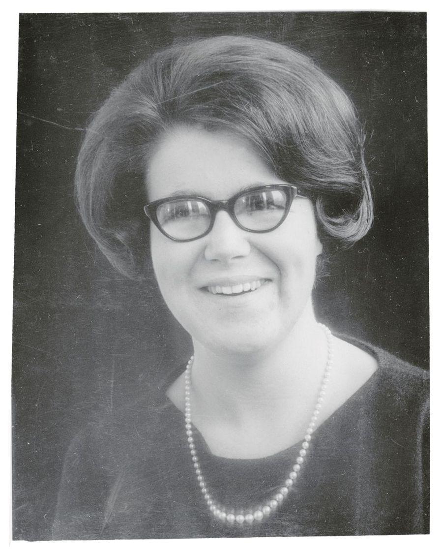 La princesse Christina des Pays-Bas, photo pour ses 19 ans le 18 février 1966