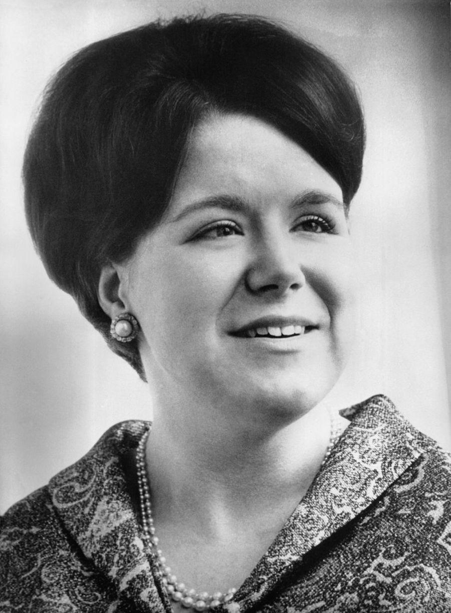 La princesse Christina des Pays-Bas, photo pour ses 20 ans le 18 février 1967
