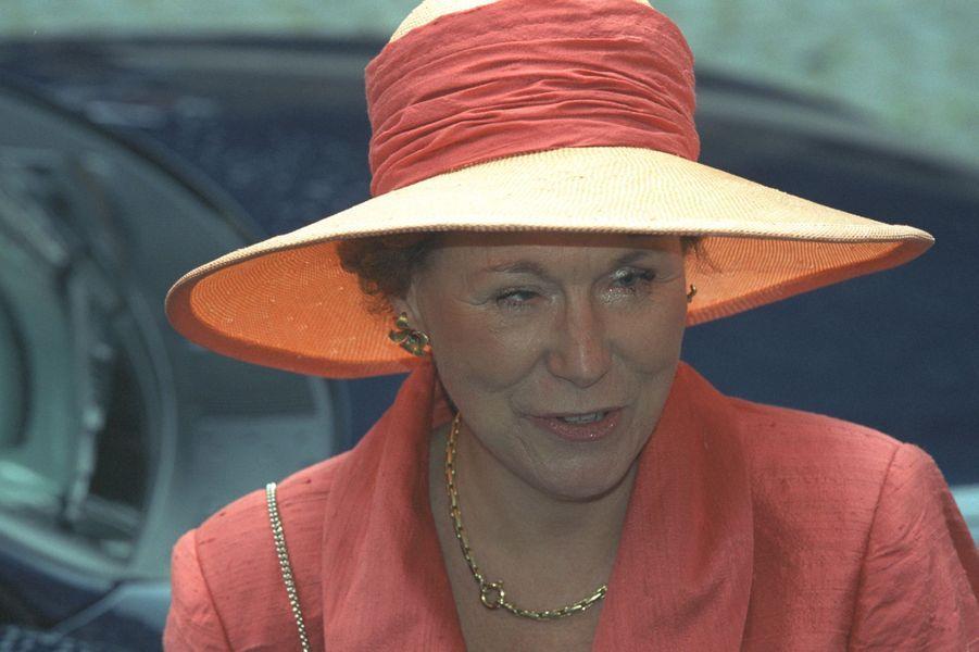 La princesse Christina des Pays-Bas, le 8 juillet 2000