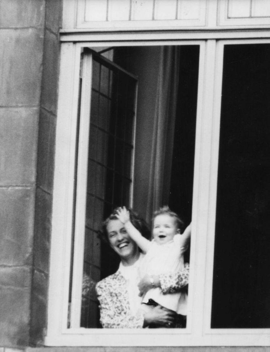 La princesse Christina des Pays-Bas, le 31 août 1948