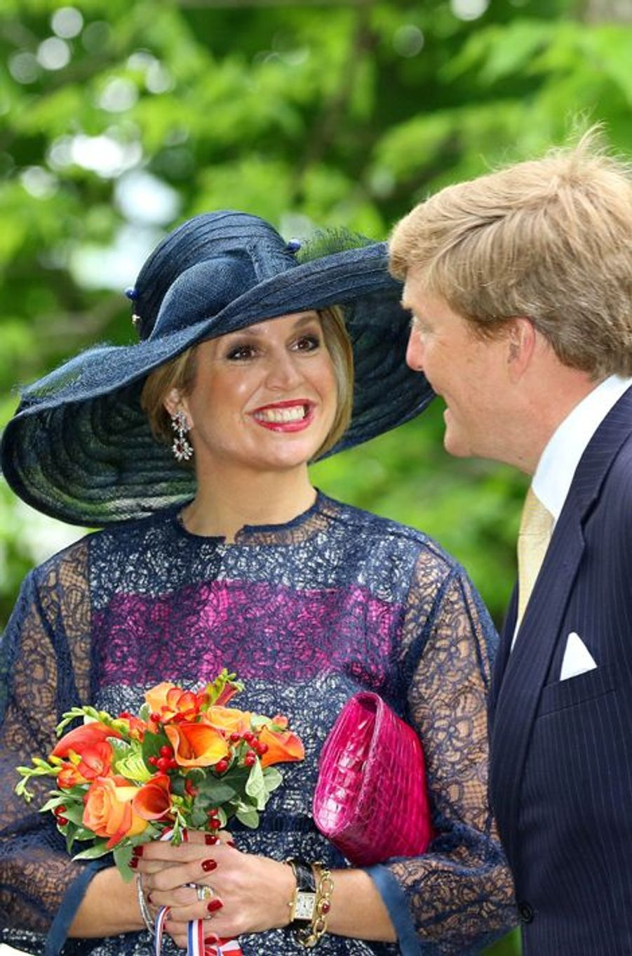 La reine Maxima et le roi Willem-Alexander des Pays-Bas à Ottawa, le 27 mai 2015