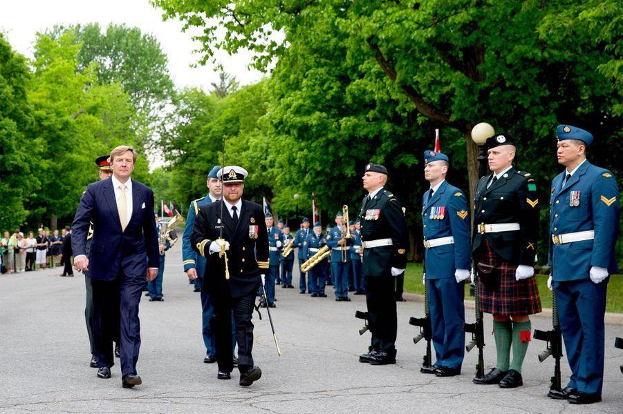 Le roi Willem-Alexander des Pays-Bas à Ottawa, le 27 mai 2015