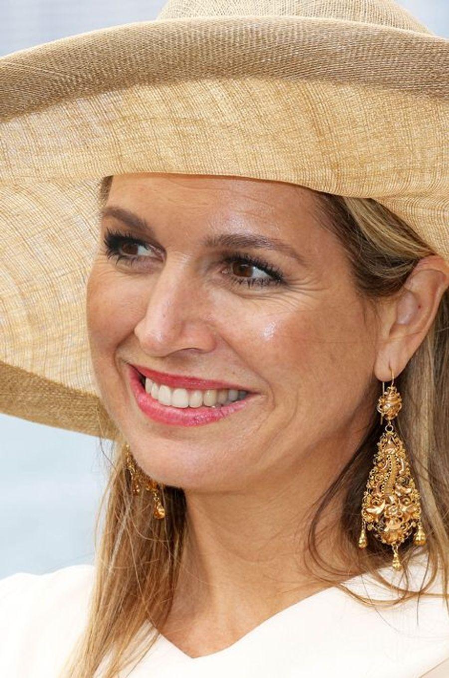 La reine Maxima des Pays-Bas à Toronto, le 29 mai 2015