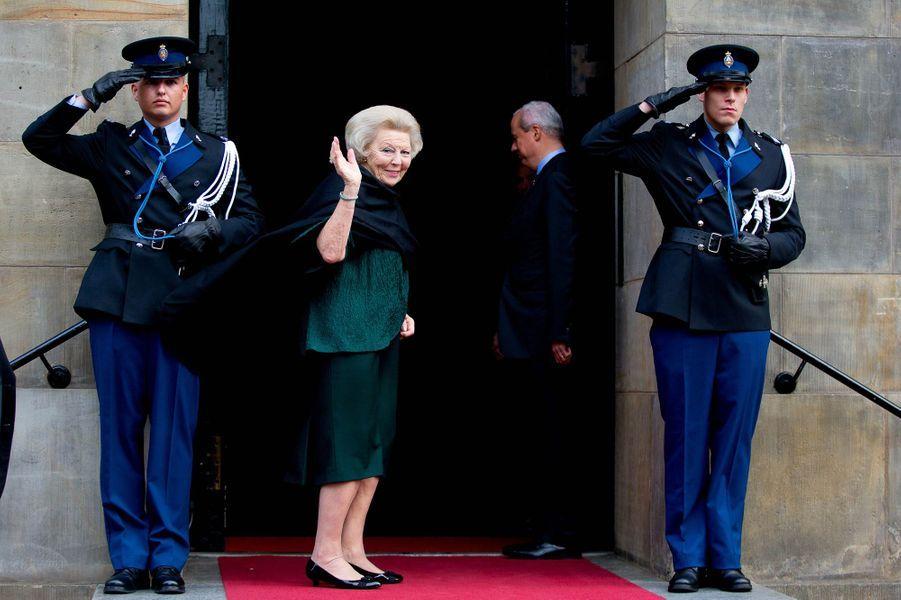La princesse Beatrix des Pays-Bas à Amsterdam, le 2 décembre 2015