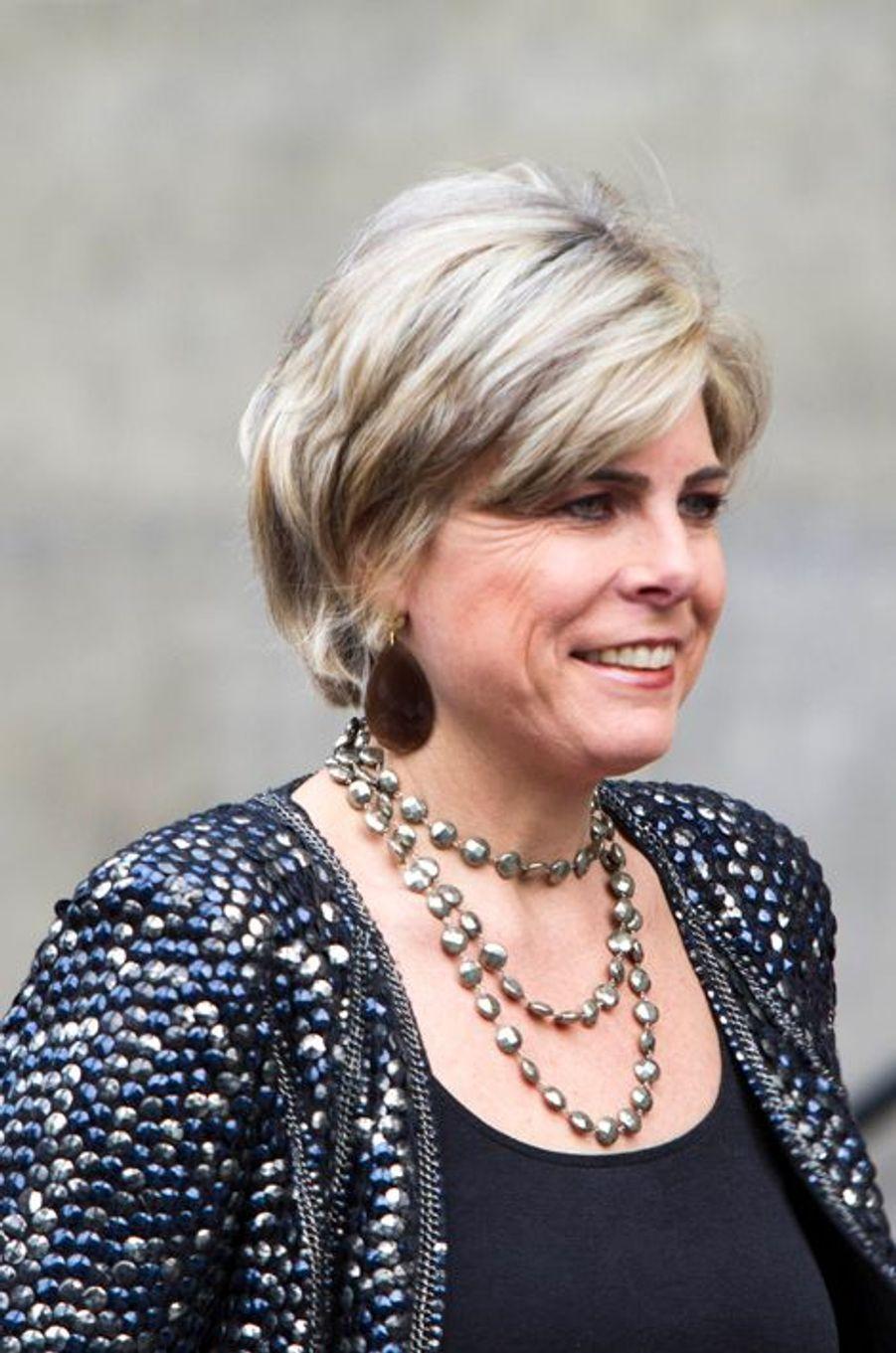 La princesse Laurentien des Pays-Bas à Amsterdam, le 2 décembre 2015