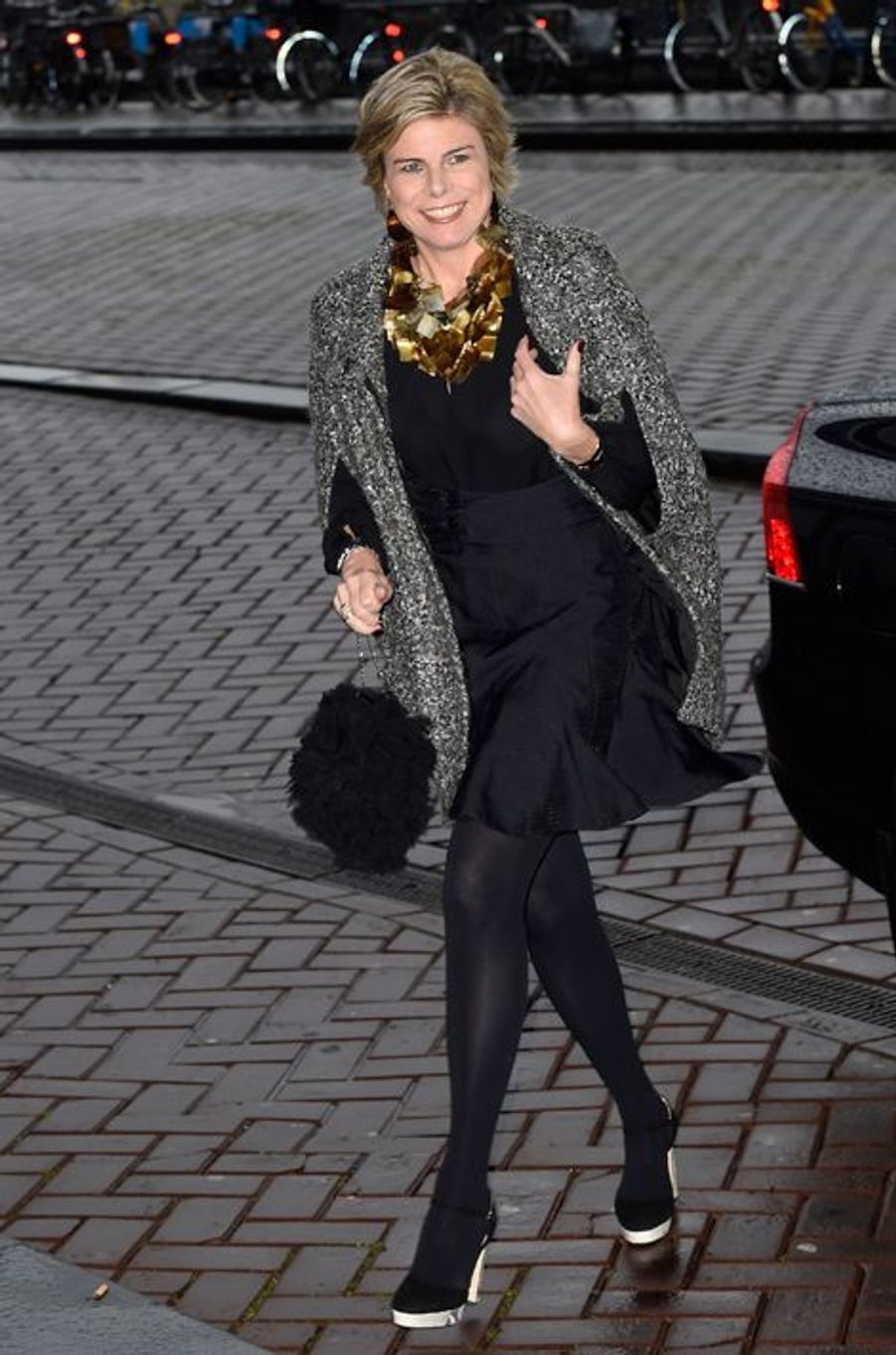 La princesse Laurentien des Pays-Bas à Amsterdam, le 30 novembre 2015