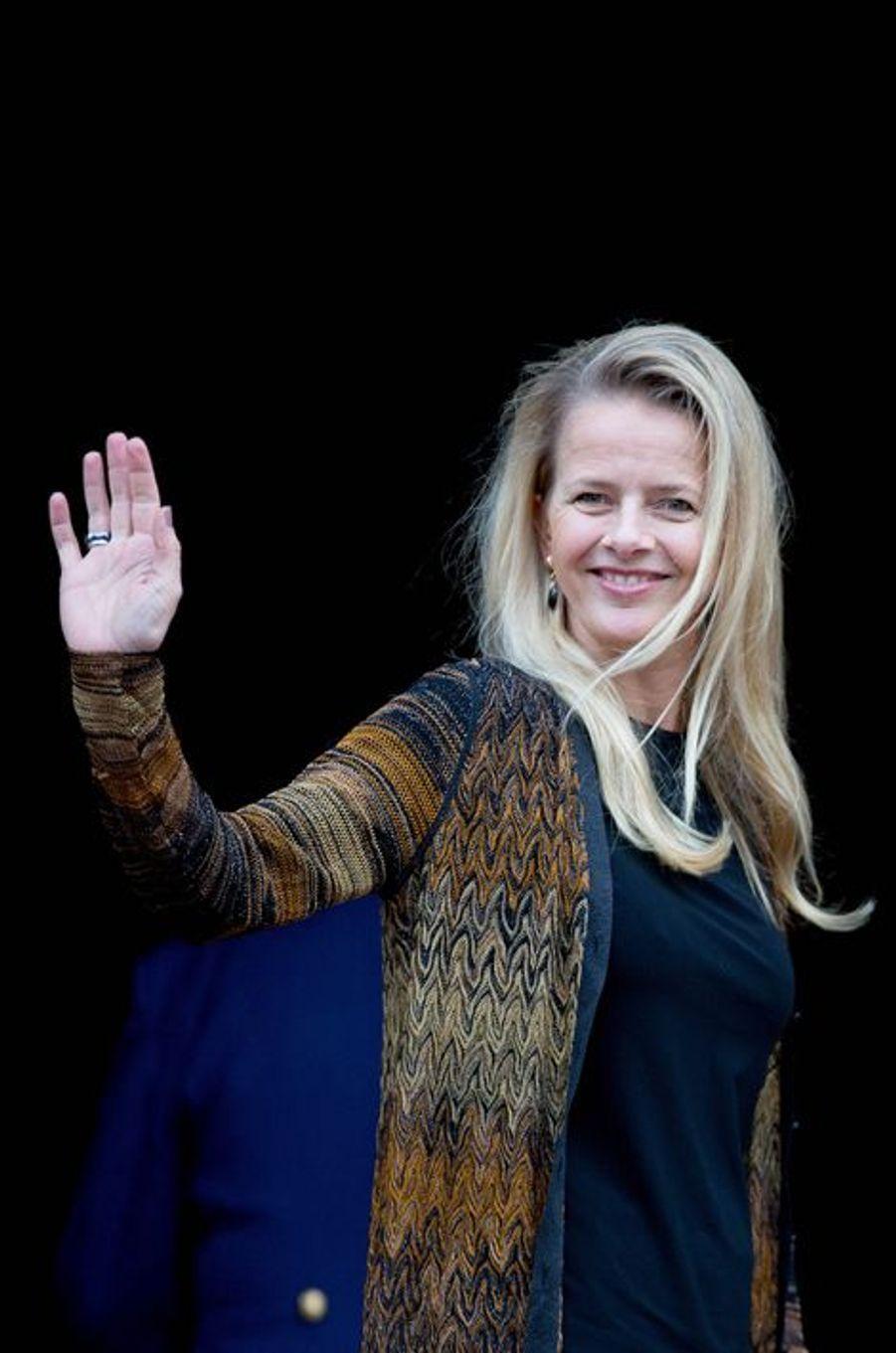La princesse Mabel des Pays-Bas à Amsterdam, le 2 décembre 2015