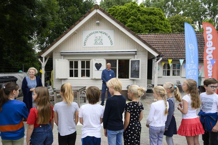 La princesse Beatrix des Pays-Bas, le 10 juin 2020 à Baarn