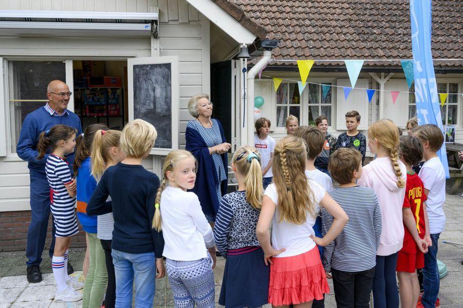 La princesse Beatrix des Pays-Bas à Baarn, le 10 juin 2020