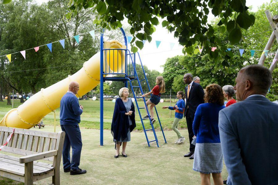 L'ex-reine Beatrix des Pays-Bas à Baarn, le 10 juin 2020