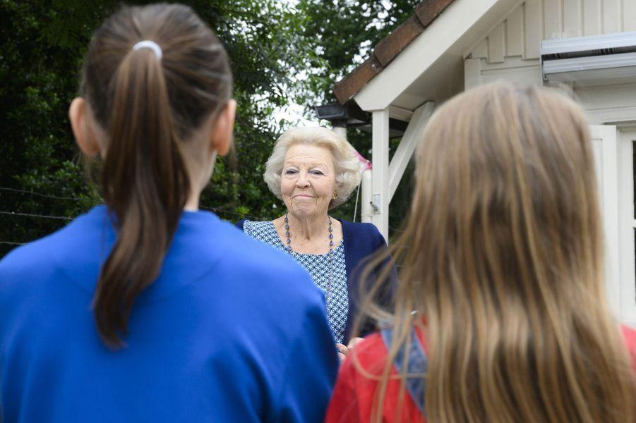 L'ex-reine Beatrix des Pays-Bas, le 10 juin 2020 à Baarn