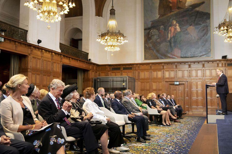 L'ex-reine Beatrix des Pays-Bas à La Haye, le 26 août 2019