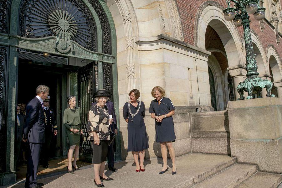 La princesse Beatrix des Pays-Bas à La Haye, le 26 août 2019