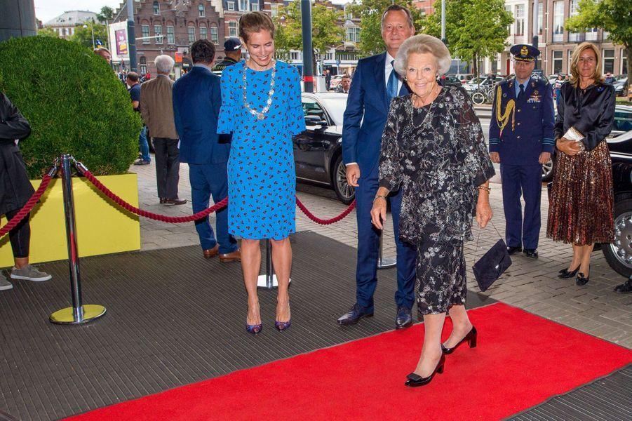 L'ex-reine Beatrix des Pays-Bas à Amsterdam, le 15 août 2019