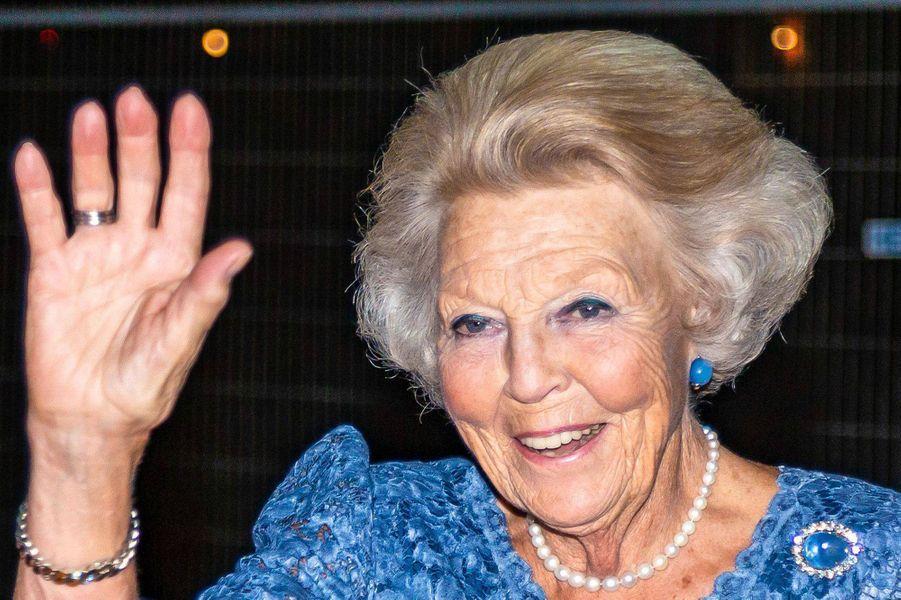 L'ex-reine Beatrix des Pays-Bas à La Haye, le 29 août 2019