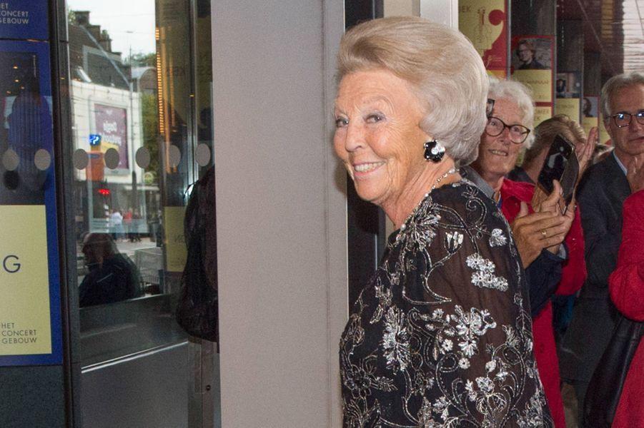 La princesse Beatrix des Pays-Bas à Amsterdam, le 15 août 2019