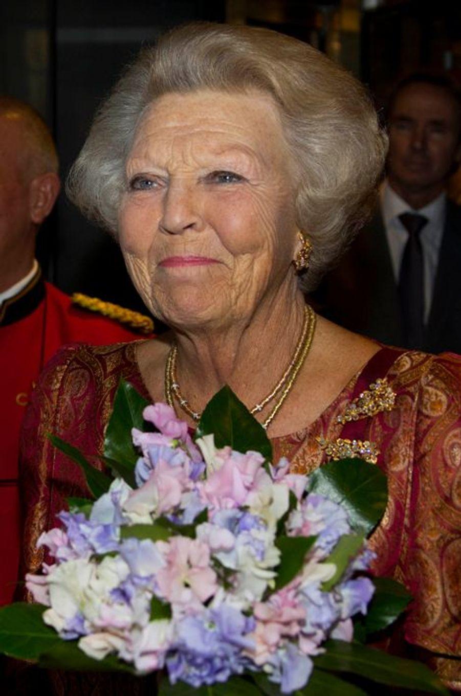 La princesse Beatrix des Pays-Bas à Amsterdam, le 14 septembre 2015