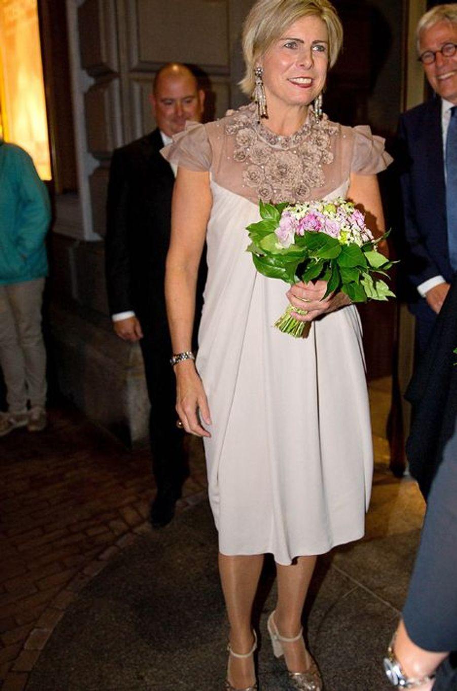 La princesse Laurentien des Pays-Bas à Amsterdam, le 14 septembre 2015