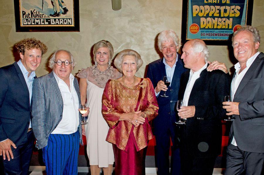 Les princesses Laurentien et Beatrix des Pays-Bas à Amsterdam, le 14 septembre 2015