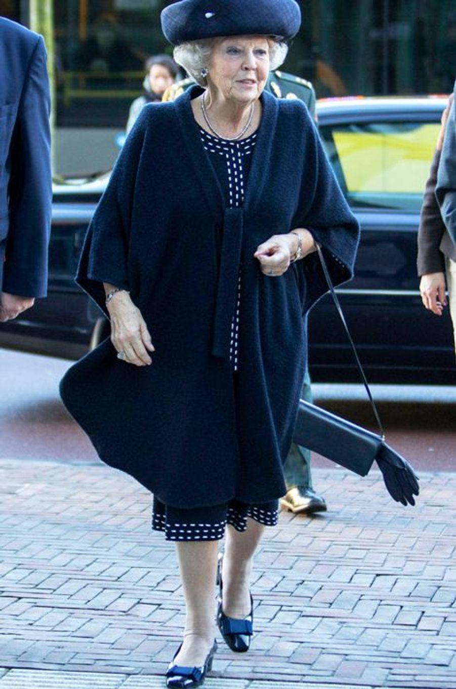 La princesse Beatrix des Pays-Bas à Utrecht, le 25 janvier 2016