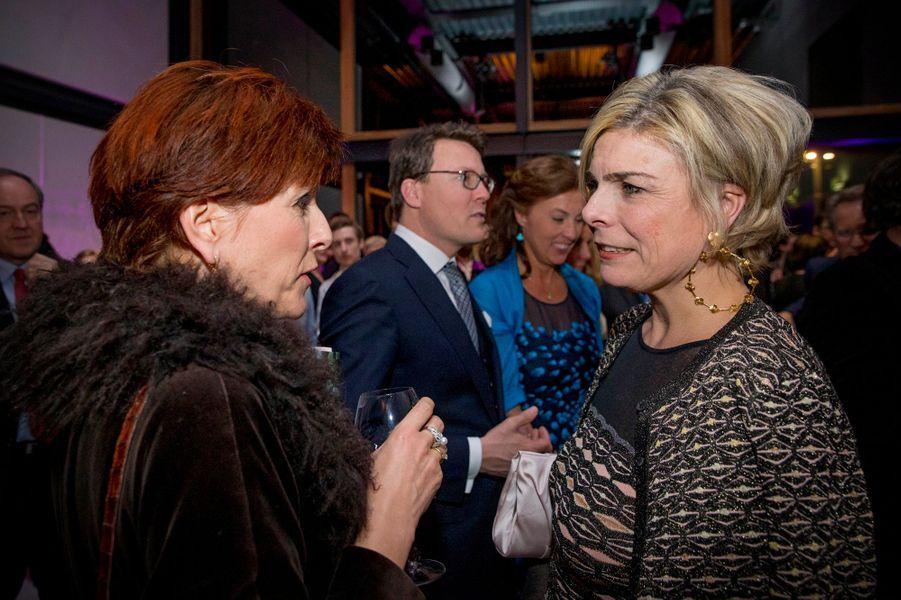 La princesse Laurentien des Pays-Bas à La Haye, le 28 janvier 2016