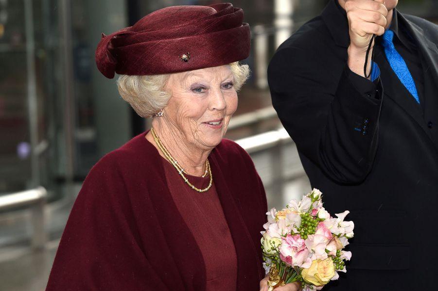 La princesse Beatrix des Pays-Bas à Amsterdam, le 23 septembre 2015