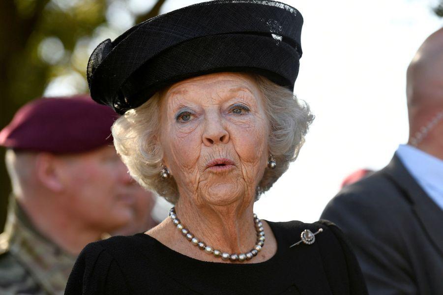L'ex-reine Beatrix des Pays-Bas à Ede, le 21 septembre 2019