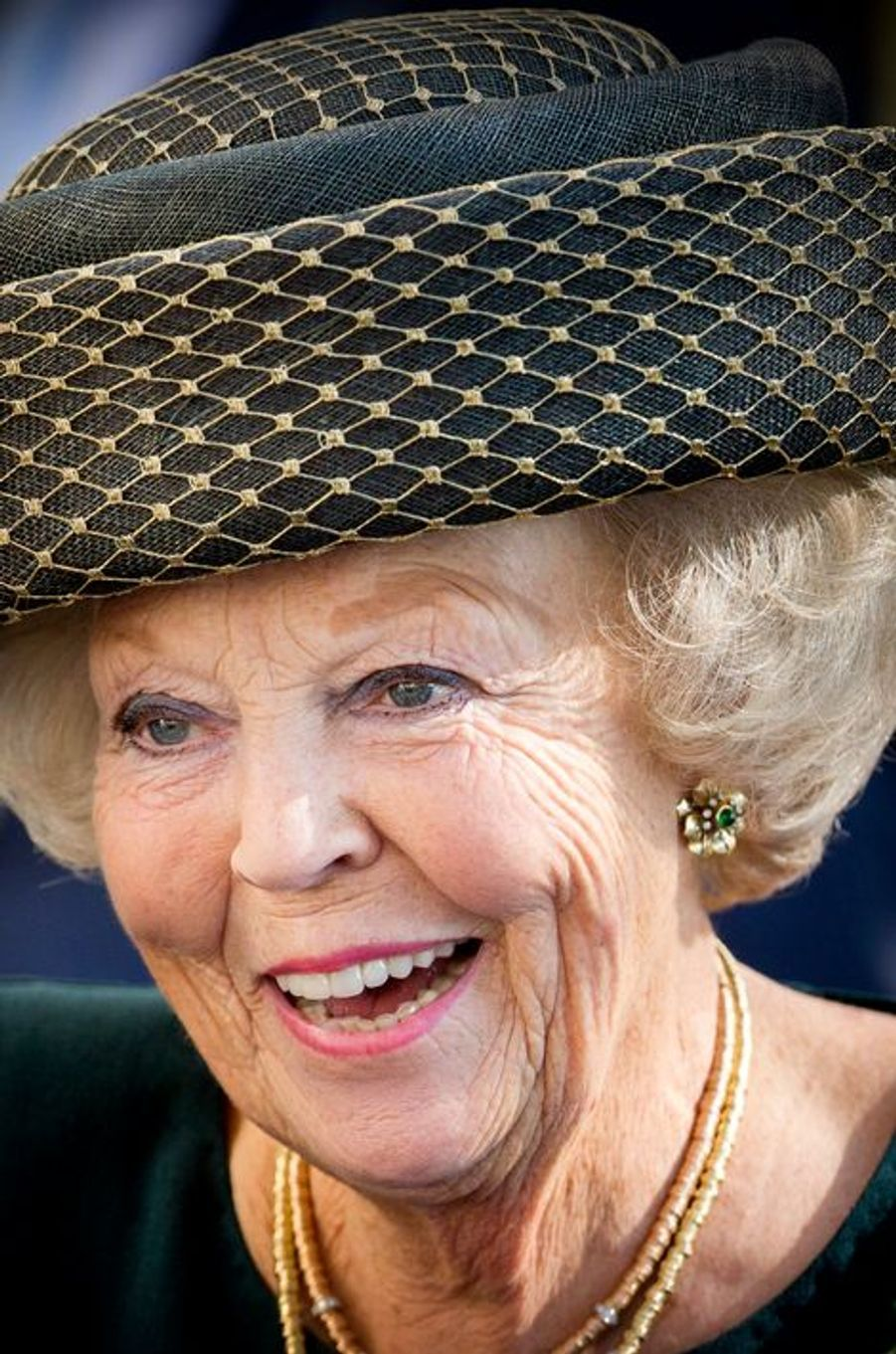 La princesse Beatrix des Pays-Bas à La Haye, le 2 octobre 2015