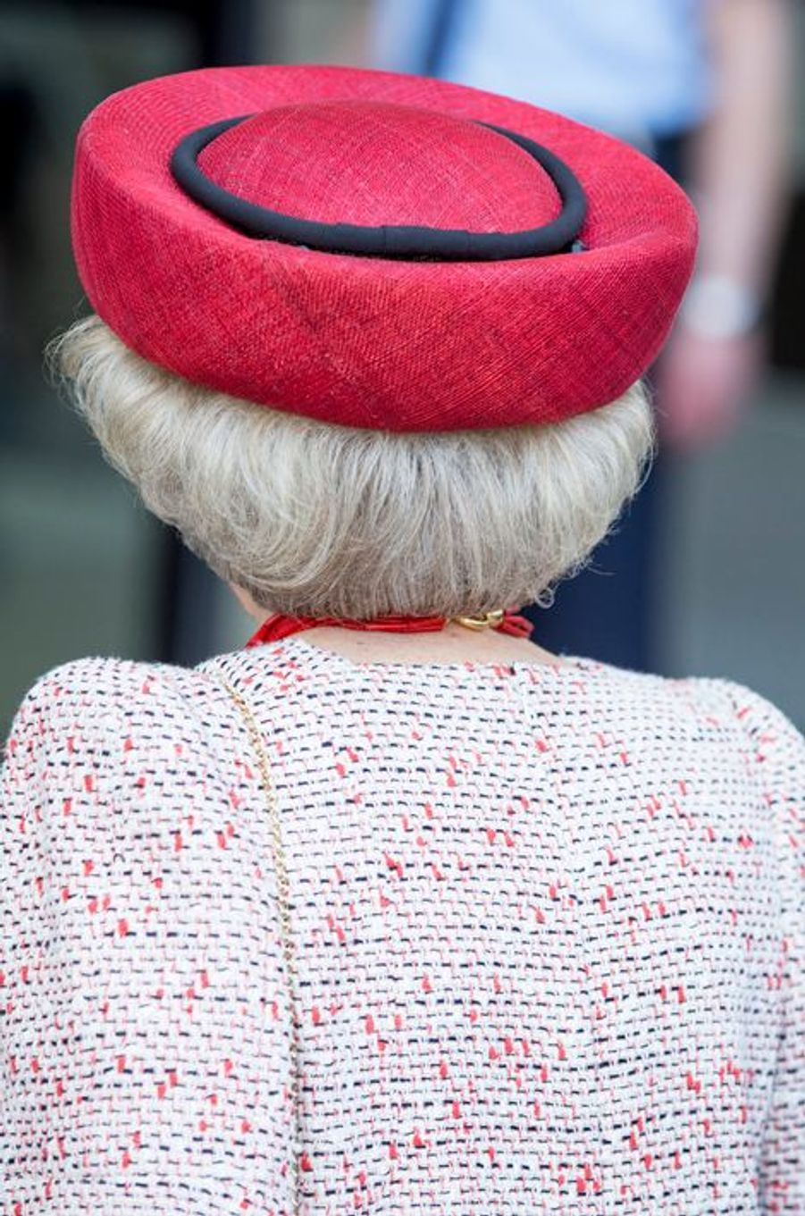 L'ex-reine Beatrix des Pays-Bas à Groningen, le 17 avril 2015