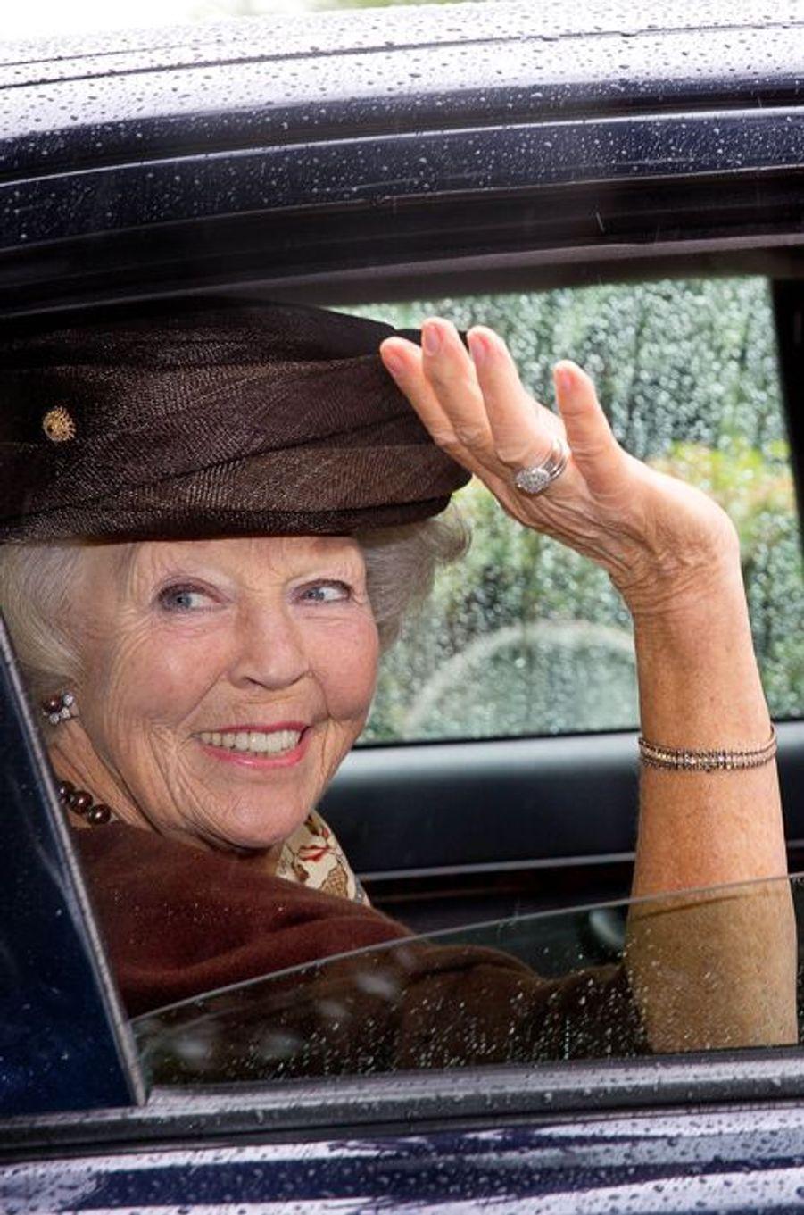 La princesse Beatrix des Pays-Bas à Waarde, le 5 septembre 2015