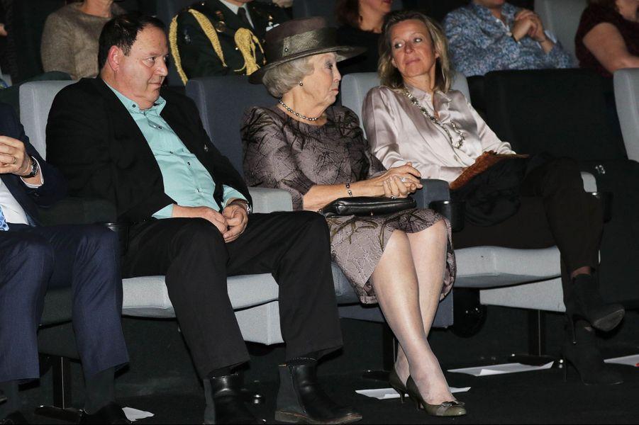 La princesse Beatrix des Pays-Bas à Amsterdam, le 23 janvier 2016