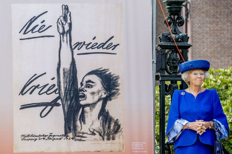 La princesse Beatrix des Pays-Bas à Doorn, le 24 août 2018