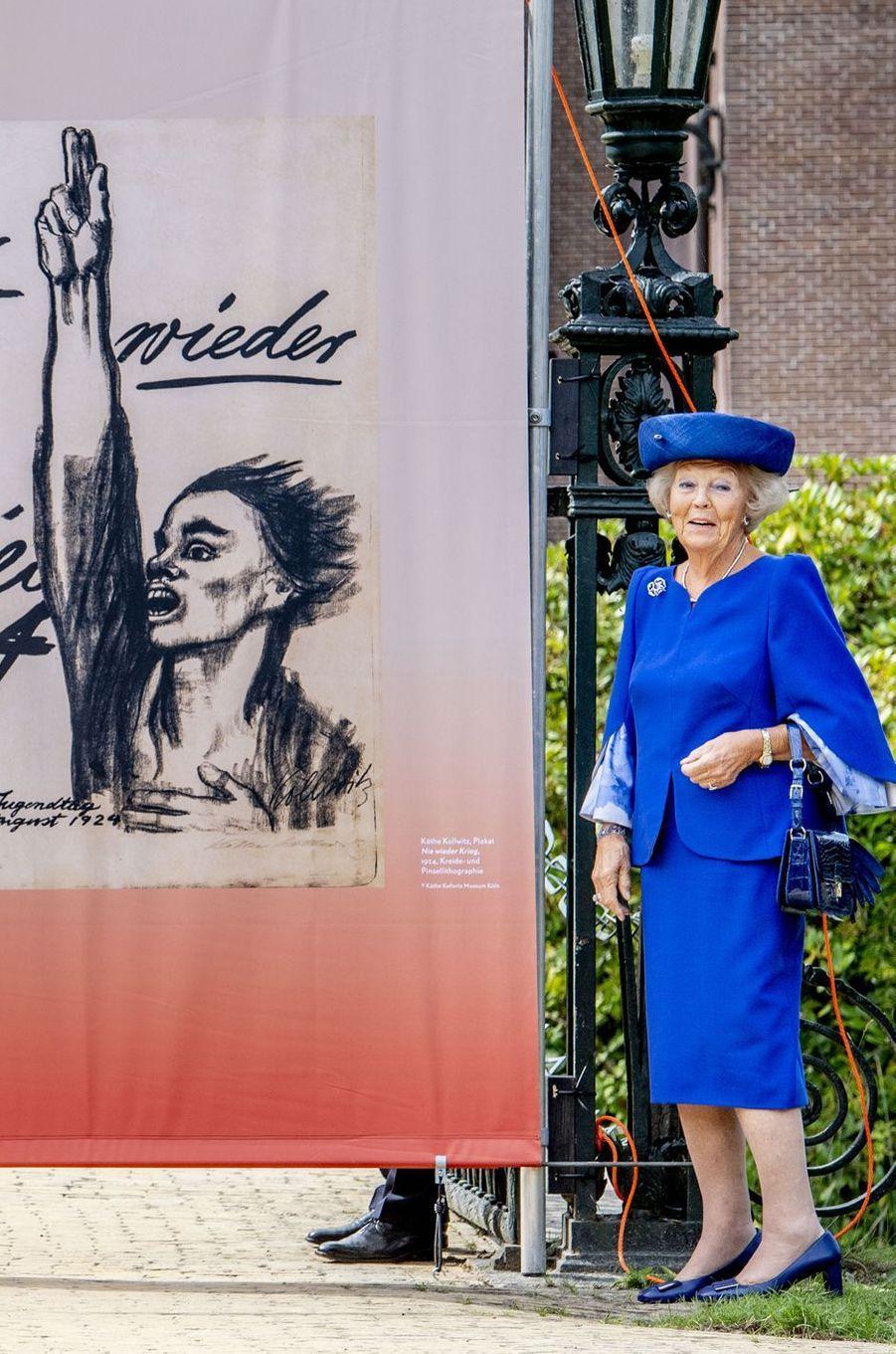 L'ancienne reine Beatrix des Pays-Bas à Doorn, le 24 août 2018