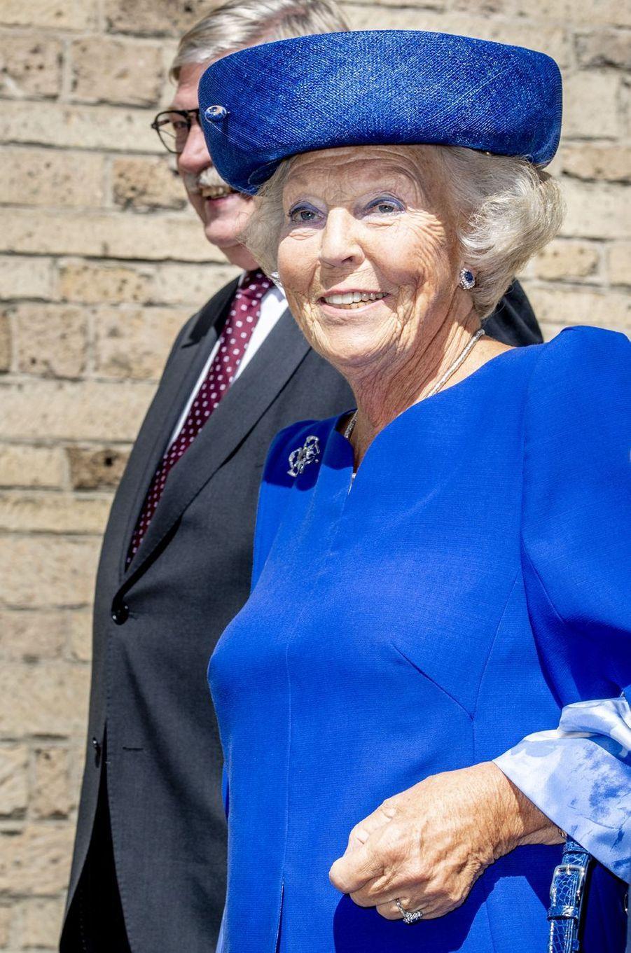 L'ex-reine Beatrix des Pays-Bas à Doorn, le 24 août 2018
