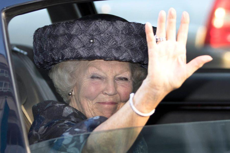 La princesse Beatrix des Pays-Bas à La Haye, le 12 février 2016
