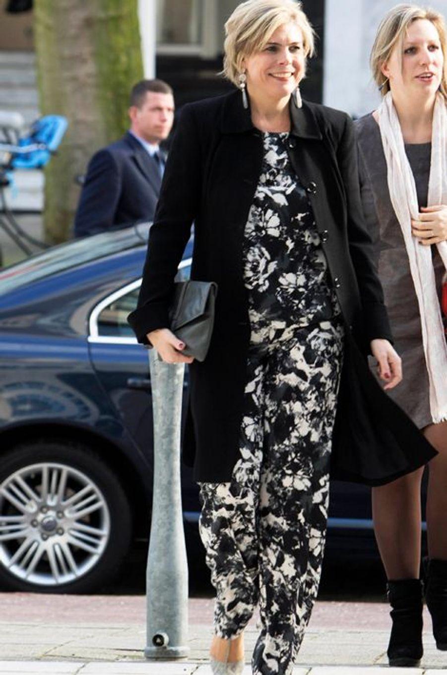 La princesse Laurentien des Pays-Bas à La Haye, le 12 février 2016
