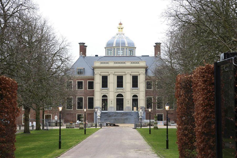 Le palais de la Huis ten Bosch à La Haye, le 10 janvier 2019